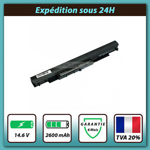 BATTERIE POUR HP NOTEBOOK 15-AC169NF  15-AC172NF 15-AC173NF  14.6V 2600mah