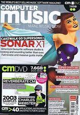 CHARLES Webster/SONAR X1 Computer Music + Cd Nº 160 Jan 2011