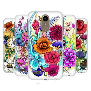 HEAD CASE DESIGNS WATERCOLOURED FLOWERS SOFT GEL CASE FOR LG PHONES 1