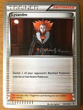 Pokemon TCG : 4 X LYSANDRE 90/106 World Championship PROMO Uncommon