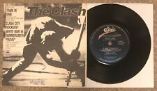 """The Clash Train In Vain Very Rare New Zealand 7"""" PS Punk Sex Pistols Damned"""