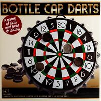 Darts Set Drinking Board Game Bottle Cap Magnetic Dart Adult Party Bar Games New