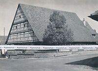 Metzingen - Oberes Neckartal - Städtische Weinkelter     um 1955  K 17-6