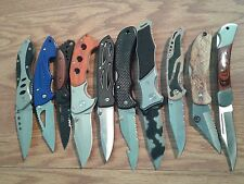 10 NEW WHOLESALE LOT TACTICAL RESCUE ASSORTED FOLDING POCKET KNIFE