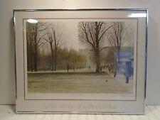 Harold Altman At Editions Limited November 1979 Lithograph Print - Framed