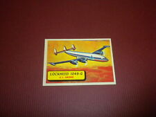 PLANES trading card #55 TOPPS 1957 Army Navy Air Force - WORLD AIRPLANES - WAR