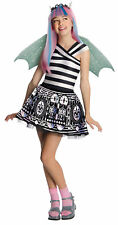 Monster High Rochelle Goyle Child Costume Colorful Theme Party Funny Halloween
