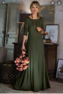 Soft Surroundings Santiago Boatneck Maxi Dress