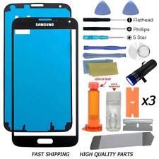 SAMSUNG GALAXY S5 Replacement Screen Front Glass Lens Repair Kit Black+UV Glue