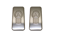 2X KENWORTH TRUCK STAINLESS STEEL SLEEPER VENT COVER