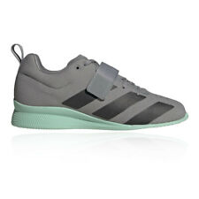 adidas Mens adipower Weightlifting II Shoes - Grey Sports Breathable