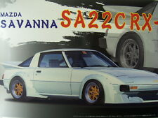 NEW FUJIMI MAZDA SAVANNA SA22C RX-7 1/24 Scale PLASTIC MODEL KIT