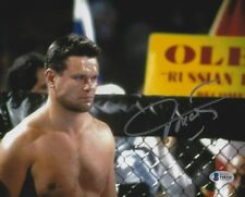 Oleg Taktarov Signed UFC 5 6 7 8x10 Photo BAS Beckett COA MMA Picture Autograph