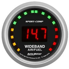 Autometer Sport-Comp Wideband AFR Gauge 10:1-17:1 2-1/16in