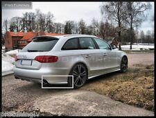 Audi A4 B8 8K 08-12 Rear Bumper spoiler flaps elerons addons splitter RS4 S4 RS