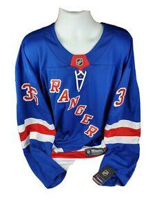 NWT Fanatics New York Rangers Breakaway Mens Sewn Large Jersey Zuccarello 4XL