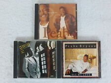 PEABO BRYSON  LOT OF 3 CDS