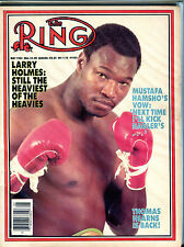The Ring Boxing Magazine May 1984 Larry Holmes EX 060616jhe