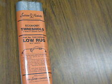 """LOXCREEN Aluminum Economy Low Rug Threshold  Vinyl Seal  Fits Up To 36"""" Wide"""