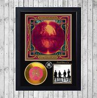 HEROES DEL SILENCIO ESPIRITU CUADRO GOLD/PLATINUM CD EDICION LIMITADA. FRAMED