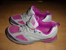 The North Face Cradle Hiking Athletic Grey & Cerise Pink Ladies Trainers size 6