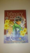 LIBRARY WARS LOVE & WAR GN VOL 10  (Anglais) - Kiiro Yumi