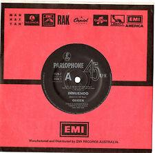 "QUEEN - INNUENDO / BIJOU - RARE 7"" 45 VINYL RECORD 1991"