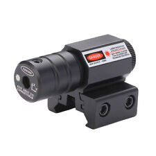 Tactical Red Laser Sight Adjustable Dot Sight Scope Hunting Rifle Mount Gun