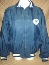 Vintage Men's Union Pacific Railroad Blue Windbreaker Work Jacket - Size XL