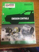 1987  Borg Warner Emissions Controls Parts Catalog No. EC-87