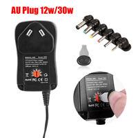 AC DC Universal Power Supply Adapter Converter 30W 3V 4.5V 5V 6V 7.5V 9V 12V AU