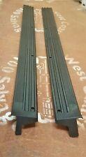 81-86 FORD F100 PARTS BLACK PLASTIC CARPET SCUFF PLATES NEW 81-92