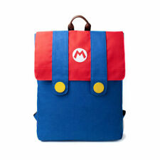 NINTENDO Super Mario Suit Backpack Rucksack School College Uni Gaming Bag Gift