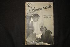 La femme rousse Georges Sim Simenon 1933 Editions Jules Tallandier
