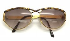 15340519e552 Vintage Laura Biagiotti T 636 S Gold Leopard Print Sunglasses Eyeglasses  Frames