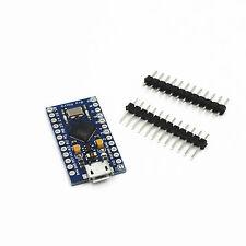 5Stk. Neu Mini Pro Micro ATmega32U4 5V 16MHz Replace Mini ATmega328 für Arduino