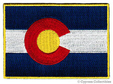 COLORADO STATE FLAG embroidered iron-on PATCH EMBLEM CO applique TOP QUALITY new