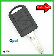Coque Clé Télécommande Plip Opel Meriva Vectra Tigra + Lame dents