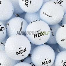 12 Nike NDX / Turbo / Heat Lake Golf Balls - Pearl /A Grade - Premium Lake Balls