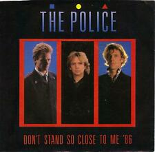 THE POLICE  Don't Stand So Close To Me '86/ live version 45 with PicSleeve STING