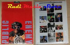 CALENDARIO PUBLIC ENEMY 1994  no cd dvd lp mc tour live