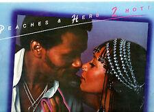 SOUL.PEACHES & HERB.2 HOT.ORIG UK LP.EX+