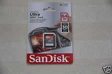 SanDisk Ultra 64 GB Class 10 - microSDXC Card - (SDSDQUA-064G-A11A)