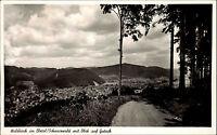 Waldkirch im Elztal Schwarzwald Ansichtskarte 1954 Panorama mit Blick auf Gutach