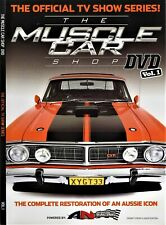 The MUSCLE CAR Shop DVD Volume 1 DVD The Official TV SHOW SERIES! BRAND NEW R0