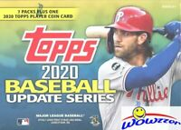 2020 Topps Update Baseball EXCLUSIVE Blaster Sealed Box-MEDALLION COIN RELIC