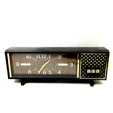 Retro Mid Century SEIKO MELODIA GOLD ALARM CLOCK Mechanical Wind Up