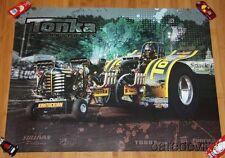 "2015 Wayne Sullivan signed TONKA Motorsports ""Kentuckian"" Tractor Pull poster"