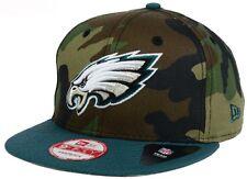 New Era NFL Official 9Fifty Mens Snapback Camo Two Tone Woodland Hat Cap