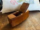 Antique Wooden Beech Block/Coffin Plane Alex Mathieson & Sons Glasgow